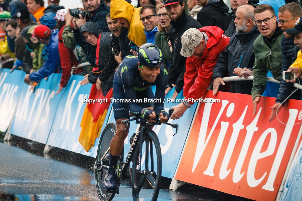 Stage 1 (ITT) from Düsseldorf to Düsseldorf of the 104th Tour de France, Düsseldorf, Germany, 1 July 2017. Photo by Thomas van Bracht / PelotonPhotos.com | All photos usage must carry mandatory copyright credit (Peloton Photos | Thomas van Bracht)