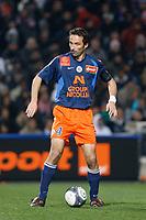 FOOTBALL - FRENCH CHAMPIONSHIP 2009/2010  - L1 - MONTPELLIER HSC v GIRONDINS BORDEAUX - 16/12/2009 - PHOTO PHILIPPE LAURENSON / DPPI - NENAD DZODIC (MON)