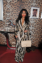 VANESSA WHITE at a party hosted by Roberto Cavalli to celebrate his new Boutique's opening at 22 Sloane Street, London followed by a party at Battersea Power Station, London SW8 on 17th September 2011.