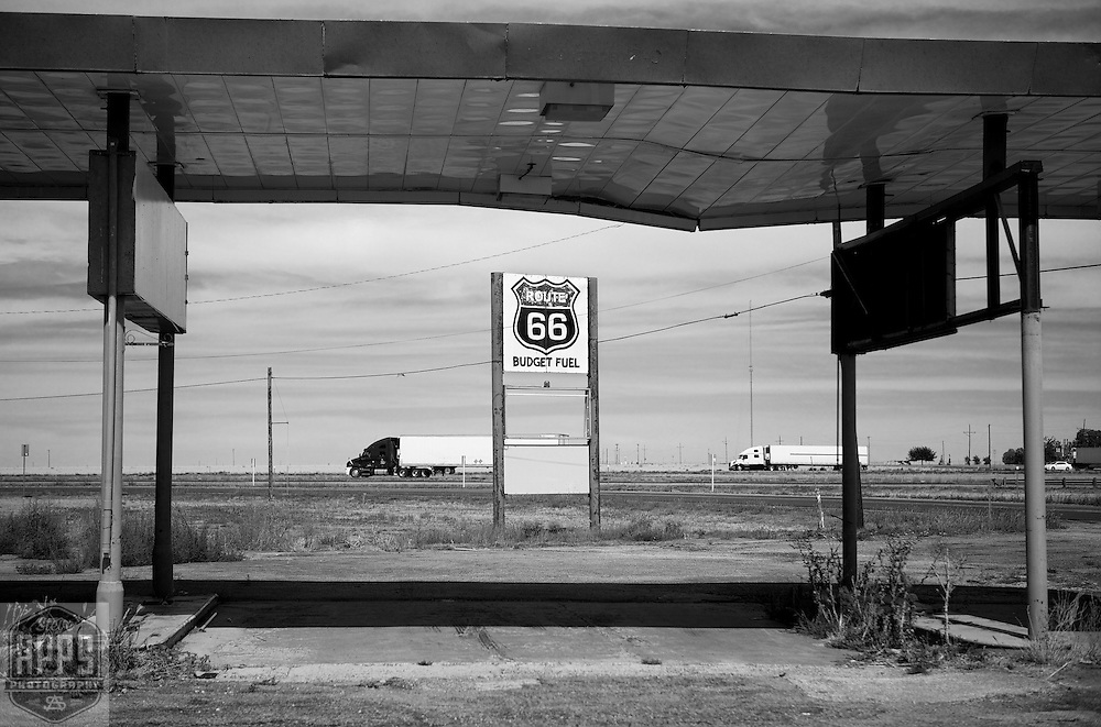 Trading post on Route 66, Conway, Texas.A September 2011 Route 66 trip, section 2,  from Joplin, Missouri to San Jon, New Mexico. Route 66 in America.