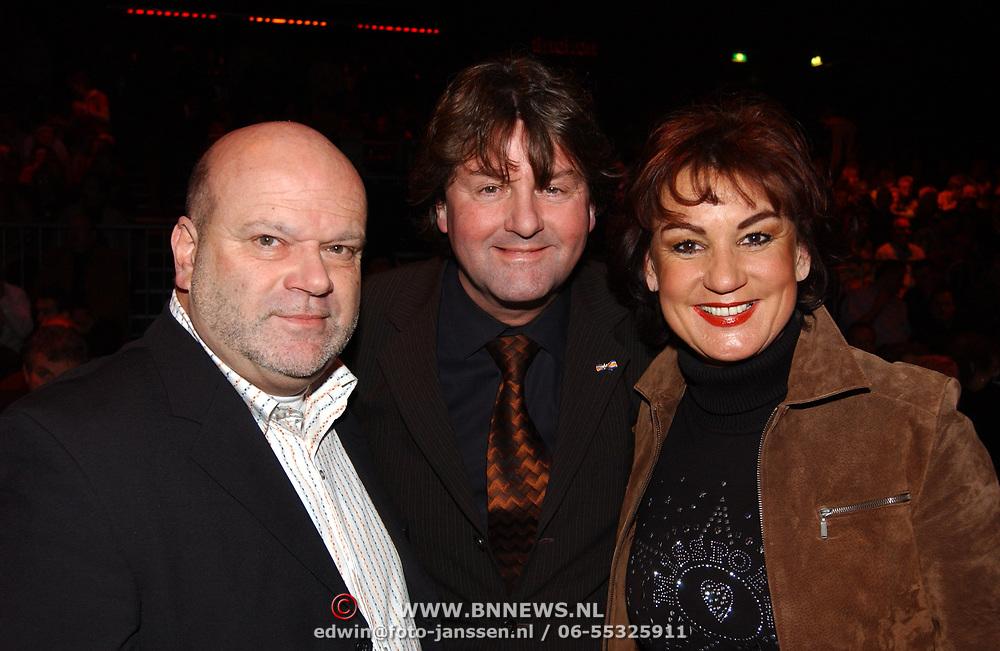 Corrie Konings 35 jaar in vak, Willem van Schijndel + Albert West en Jose Hoebee