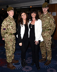 Louise Michelle and Vicki Michelle attend The London Taxi Drivers' Fund - Mad Hatter's Tea Party at Grosvenor House Hotel, Park Lane, London on Sunday 18 January 2015