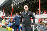 Brentford Manager / Head Coach Dean Smith during the EFL Sky Bet Championship match between Brentford and Preston North End at Griffin Park, London, England on 17 September 2016. Photo by Andy Walter.