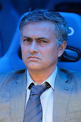 Real Madrid's coach Jose Mourinho before La Liga Match. April 02, 2011.