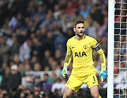Hugo Llores during the Champions League match between Real Madrid and Tottenham Hotspur at the Santiago Bernabeu Stadium, Madrid, Spain on 17 October 2017. Photo by Ahmad Morra.