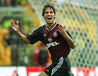 Fotball: Roque SANTA CRUZ  Jubel nach dem 0:2<br /> Borussia Dortmund - FC Bayern München  0:2