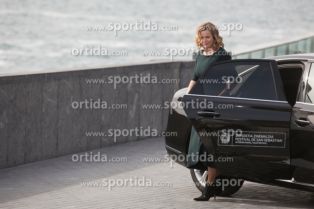 25.09.2015, Madrid, San Sebastian, ESP, San Sebastian International Film Festival, im Bild Awarded actress Emily Watson arrives to photocall during 63rd Donostia Zinemaldia (San Sebastian International Film Festival) in San Sebastian, Spain. September 25, 2015. (ALTERPHOTOS/Victor Blanco) // at 63rd Donostia Zinemaldia, San Sebastian International Film Festival in Madrid in San Sebastian, Spain on 2015/09/25. EXPA Pictures &copy; 2015, PhotoCredit: EXPA/ Alterphotos/ Victor Blanco<br /> <br /> *****ATTENTION - OUT of ESP, SUI*****