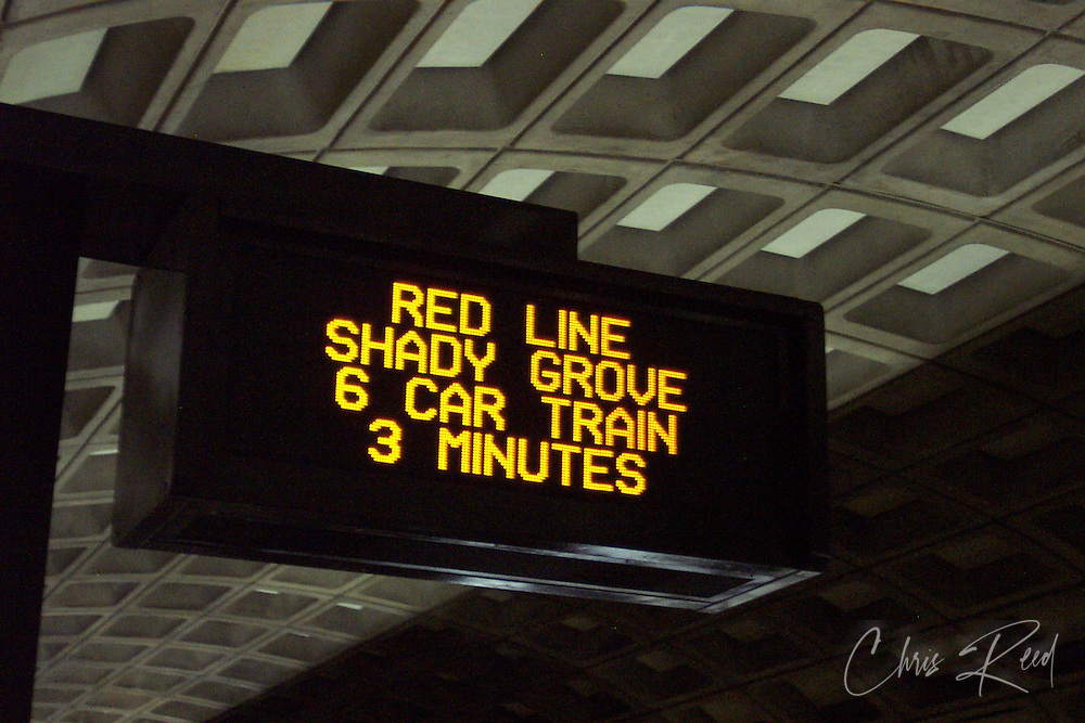 Metro Passenger Information Display