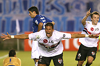 20090527: BELO HORIZONTE, BRAZIL - Cruzeiro vs Sao Paulo: Copa Libertadores 2009. In picture: Washington (Sao Paulo) celebrating goal. PHOTO: CITYFILES