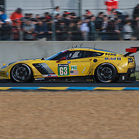 #63, Chevrolet Corvette C7.R, Corvette Racing-GM, driven by Jan Magnussen, Antonio Garcia, Ricky Taylor, 24 Heures Du Mans , 18/06/2016,