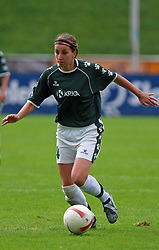 Anja Milenkovic of Krka at final game of NZS women football cup between ZNK Pomurje vs ZNK Krka, on June 4, 2008, at ZAK stadium in Ljubljana, Slovenia. Krka won the match 4:1 and became Slovenian Cup Champion. (Photo by Vid Ponikvar / Sportal Images)