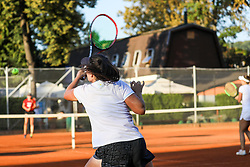The athletes during the Tennis tournament for amateurs organised by Tenis Slovenija, on September 15, 2018 in Teniski Klub Branik, Maribor, Slovenia. Photo by Matic Klansek Velej / Sportida