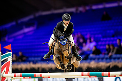 Mees Frederik, BEL, First Rate De Tinmont<br /> Jumping Mechelen 2019<br /> © Hippo Foto - Dirk Caremans<br />  27/12/2019