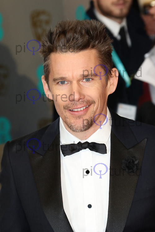 Ethan Hawke, EE British Academy Film Awards (BAFTAs), Royal Opera House Covent Garden, London UK, 08 February 2015, Photo by Richard Goldschmidt