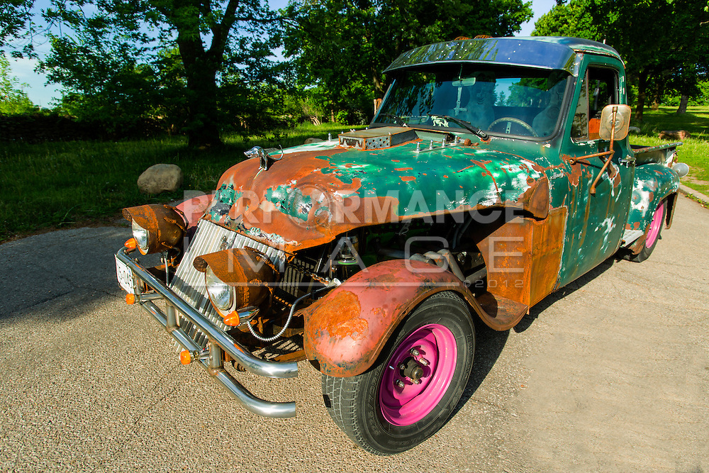 1954 Mercury M-100 Rat Rod Pickup Truck