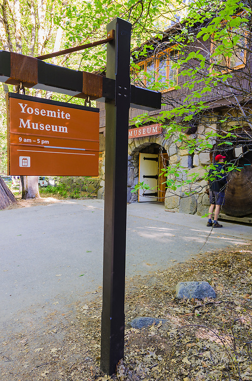 The Yosemite Museum, Yosemite National Park, California USA