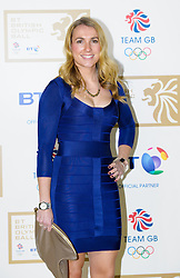Hockey star Laura Bartlett during the BT Olympic Ball, held at the Grosvenor Hotel, London, UK, November 30, 2012. Photo By Anthony Upton / i-Images.