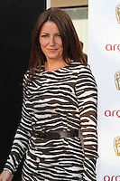 LONDON - MAY 27: Davina McCall attends the Arqiva British Academy Television Awards at the Royal Festival Hall, London, UK. May 27, 2012. (Photo by Richard Goldschmidt)