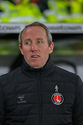 Lee Bowyer during the EFL Sky Bet Championship match between Derby County and Charlton Athletic at the Pride Park, Derby, England on 30 December 2019. during the EFL Sky Bet Championship match between Derby County and Charlton Athletic at the Pride Park, Derby, England on 30 December 2019.