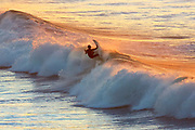 sunrise surfing at Jan Juc