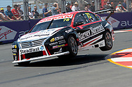 Simona De Silvestro in the Team Harvey Norman Nissan Ultima during Friday practice at The 2018 Vodafone Supercar Gold Coast 600 in Queensland.