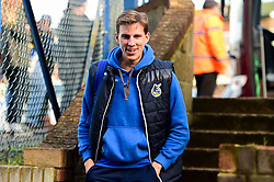 Joe Partington of Bristol Rovers arrives at Roots Hall prior to kick off - Mandatory by-line: Ryan Hiscott/JMP - 02/02/2019 - FOOTBALL - Roots Hall - Southend-on-Sea, England - Southend United v Bristol Rovers - Sky Bet League One
