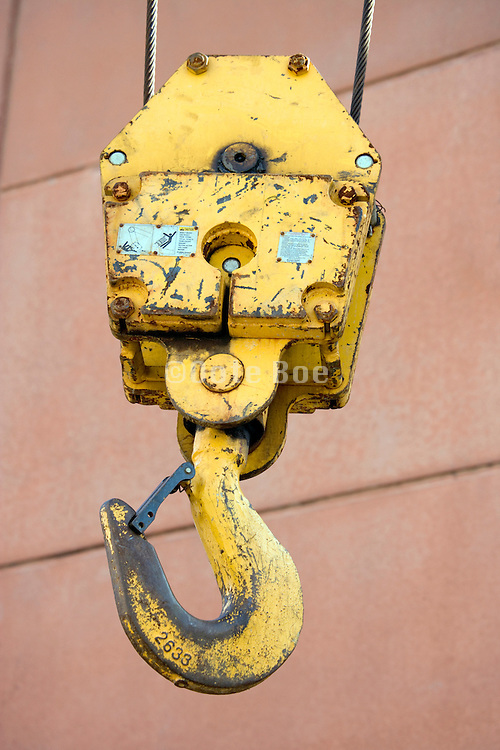 heavy duty lifting crane block