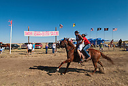 Fort Belknap Indian Reservation, Milk River Memorial Horse Races, Sweetheart Rescue Race..