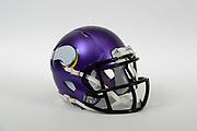 A view of a Minnesota Vikings helmet on Thursday, November 2, 2017. (Kirby Lee via AP)