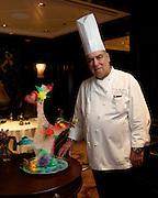 Celebrity Reflection's Executive Pastry Chef Bruno Berthelon