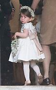 Flowergirl Princess Charlotte & Pageboy Prince George