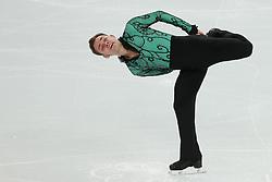 The XXII Winter Olympic Games 2014 in Sotchi, Olympics, Olympische Winterspiele Sotschi 2014<br /> Figure skating men short program in the Sochi 2014 Winter Olympics on February 6, 2014 in Sochi, Russia<br /> Paul Bonifacio Parkinson (ITA)