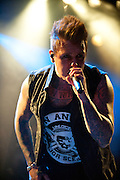 Jacoby Shaddix from Papa Roach performing live at the ZMF music festival in Freiburg, Germany on June 30, 2013. Photo: Miroslav Dakov