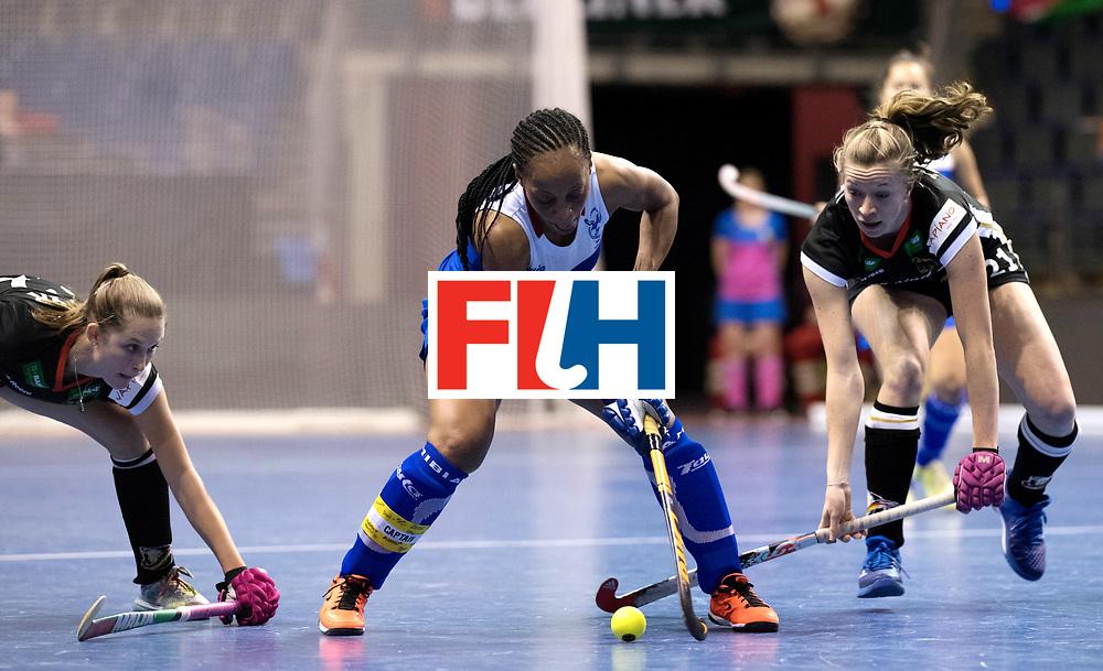 BERLIN - Indoor Hockey World Cup<br /> Women: Germany - Namibia<br /> foto: MENGO Magreth.<br /> WORLDSPORTPICS COPYRIGHT FRANK UIJLENBROEK