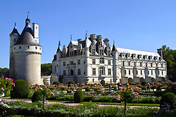 Chateau de Chenonceau and gardens, Loire, France