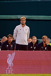 ST. LOUIS, USA - Monday, August 1, 2016: Liverpool's manager Jürgen Klopp during a pre-season friendly game against AS Roma on day twelve of the club's USA Pre-season Tour at the Busch Stadium. (Pic by David Rawcliffe/Propaganda)