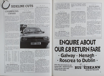 All Ireland Senior Hurling Championship Final, .04.09.1988. 09.04.1988, 4th September 1988,.4091988AISHCF,.Galway 1-15, Tipperary 0-14,.Galway v Tipperary, ..Bus Eireann,