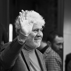 March 12, 2019 - Madrid, Spain - Spanish film director Pedro Almodovar Spanish a pose during the photocall of the film 'Dolor y Gloria' (Pain and Glory) in Madrid on March 12, 2019. (Credit Image: © Oscar Gonzalez/NurPhoto via ZUMA Press)