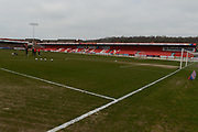 Accrington Stanley is ready for the EFL Sky Bet League 1 match between Accrington Stanley and Fleetwood Town at the Fraser Eagle Stadium, Accrington, England on 30 March 2019.