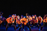 The final Collabo (so named because it displays collaborations) performance by the dance groups Unity, Boadicea and Methods of Movement. At Stratford Circus, Artistic Director Tony Adigun.  Choreography by Rhimes Lecointe, Tashan Muir and Ninja, Music Editor Omar Ansah-Awuh. Dancers Rhimes Lecointe, Ashley Rowen Bboy Ash-Lee, Minica Beason, Chris Childs Crazy Popper, Kendra Horsburgh, Kayla Lomas Kirton, Jen Bailey Rae, Gemma Hoddy, Emma Houston, Nicole Wooder, RObyn Walker, Michael Worwood Bboy Ninja, Leader Joke Liverpool Bboy Uniquie, Mathew Gosling Bboy Menthol. Supercrew at Collabo Dance, An annual collaborative urban/hip-hop/break beats event organised by East London Dance and Tony Adigun 2013 Supercrew at Collabo Dance, An annual collaborative urban/hip-hop/break beats event organised by East London Dance and Tony Adigun 2013
