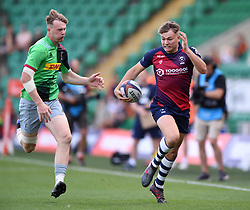 Alex Forrester of Bristol Bears in action - Mandatory byline: Patrick Khachfe/JMP - 07966 386802 - 14/09/2019 - RUGBY UNION - Franklin's Gardens - Northampton, England - Premiership Rugby 7s (Day 2)