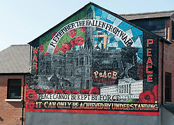 Political Mural in Belfast, Northern Ireland<br /> <br /> (c) Andrew Wilson | Edinburgh Elite media