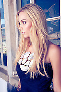 Laura Vandervoort photographed in Los Angeles for Hydrogen Magazine