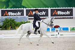 Pedro Tavares De Almeida, (BRA), Samba - Grand Prix Team Competition Dressage - Alltech FEI World Equestrian Games™ 2014 - Normandy, France.<br /> © Hippo Foto Team - Leanjo de Koster<br /> 25/06/14