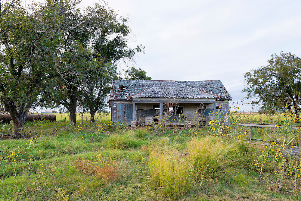 In 1896 Mosheim (formerly Live Oak) had fifty people, a school, and several businesses. From 1941 till the late , 1960's, Mosheim reached its zenith with around 200 citizenry. Thereafter the town began to decline. The Mosheim post office closed in 1976.<br /> <br /> Likely a home, possibly a business, or both, this building remains behind the ruins of the Mosheim schoolhouse.