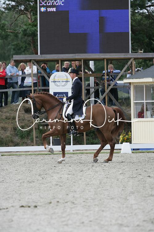 Kittel Patrick (SWE) - Scandic<br /> Grand Prix K&uuml;r Nationscup<br /> Falsterbo Horse Show 2009<br /> &copy; Hippo Foto - Leanjo de Koster