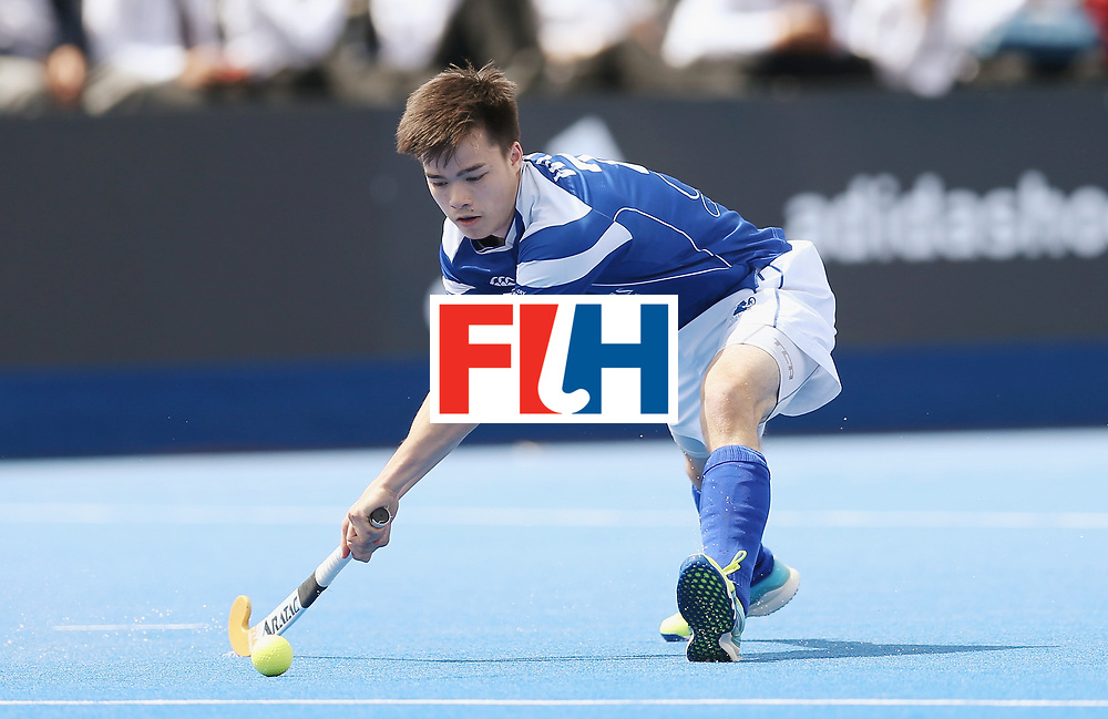 LONDON, ENGLAND - JUNE 15:  Jamie Wong of Scotland during the Hero Hockey World League Semi Final match between India and Scotland at Lee Valley Hockey and Tennis Centre on June 15, 2017 in London, England.  (Photo by Alex Morton/Getty Images)