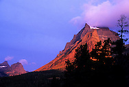 Going to the Sun Mountain from Sun Point. Glacier National Park, Montana