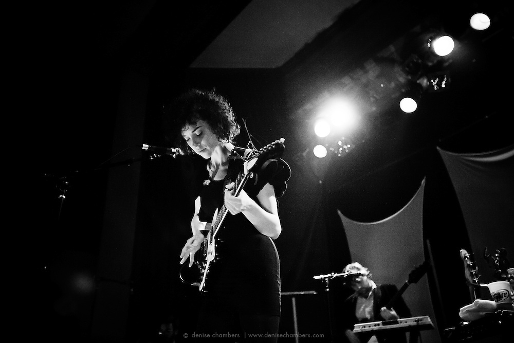 St. VIncent performs at the Bluebird Theater in Denver, Colorado.  13 Feb 2010.