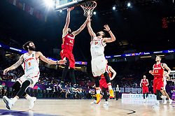 Nikita Kurbanov of Russia vs Marc Gasol of Spain during basketball match between National Teams  Spain and Russia at Day 18 in 3rd place match of the FIBA EuroBasket 2017 at Sinan Erdem Dome in Istanbul, Turkey on September 17, 2017. Photo by Vid Ponikvar / Sportida